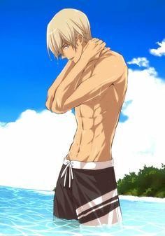 オ コ ヨ ☀️ sur okojo love give ( . Anime Sexy, Garçon Anime Hot, Handsome Anime Guys, Cute Anime Guys, Gato Anime, Manga Anime, Shirtless Anime Boys, Hottest Anime Characters, Kaito Kid