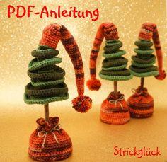 Ohne Weihnachtsbaum macht Advent / Weihnachten doch keinen Spaß. Häkle Dir dieses Jahr Deinen Tannenbaum doch einfach selber - das ist gar nicht so schwer.
