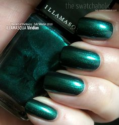 Illamasqua – Viridian - The Art of Darkness Collection for Fall/Winter 2010