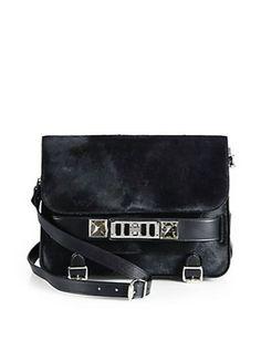 PROENZA SCHOULER PS11 Classic Calf Hair Shoulder Bag