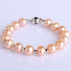 9-10 mm Freshwater Pearl Bracelet - $59.99