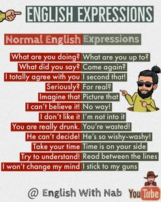 English expressions / learn English