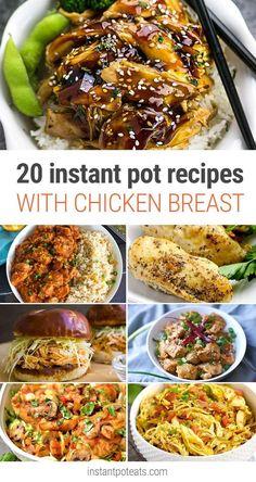 20 Tasty Instant Pot Recipes Using Chicken Breast