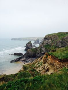 Bedruthan Steps. A dramatic stop on the way back from Padstow.