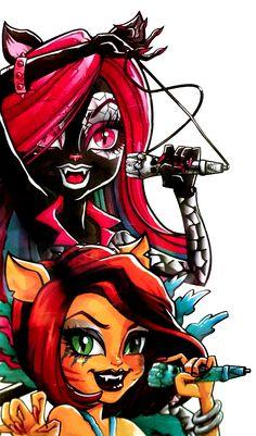 Toralei and Catty Noir. Fierce Rockers