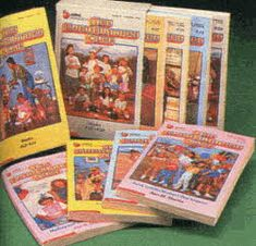 Baby-Sitter's Club Book Set From The 1980s. I wish I had my original set. These books right chere! *shakes head* These were my childhood!