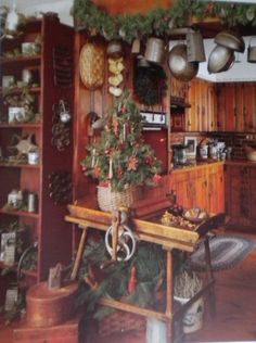 The Pleasures of Christmas~~Primitive/Country Book