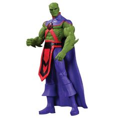 Justice League New 52 Martian Manhunter Action Figure - Dc Collectibles - Justice League - Action Figures at Entertainment Earth