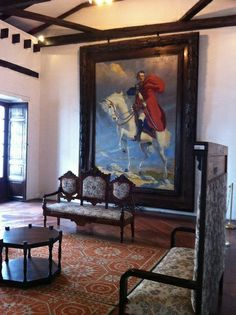 Drawing Room at Sucre Manor (Quito, Ecuador). Small Salon, Quito Ecuador, Drawing Room, Palaces, All You Need Is, 18th Century, Salons, Cabinets, Heaven