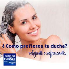 Disfruta cada momento en la ducha. Por la mañana sentirás su efecto refrescante por la noche el relajante. ¿Cuál prefieres?