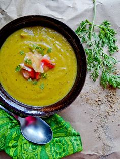 roasted carrot & sweet dumpling squash bisque {gf}
