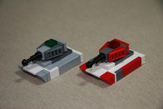 Lego Mechs, Lego Bionicle, Easy Lego Creations, Construction Lego, Van Lego, Lego Guns, Lego Creative, Micro Lego, Lego Army