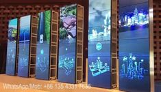 Stay positive always, you will have a shot at the silver lining.  Movable 55inch 4K video wall project, with exceptionally excellent stunning visual effect, extraordinary adverting and wonderful user experience * 4K resolution, pixel to pixel display  WhatsApp/Mob: +86 135 4331 7635 M: export@szanwell.com  #anwellvideowall #videowall #lcdvideowall #videowallprocessor #HDMImatrixswitcher #hdmimatrix #samsung #videowallproject #largeformatdisplay Exhibition Stall, Exhibition Display, Interactive Walls, Interactive Design, Display Design, Store Design, Led Video Wall, Retail Signage, Showroom Design