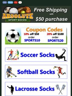 7de12d8f3 Check out this Mad Mimi newsletter Volleyball Socks, Soccer Socks, Cool  Socks, Fields