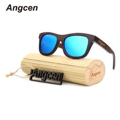 0dc43f618e1 Angcen Wood Sun Glasses 2017 Hot Polarized Sunglasses For Men and Women  Retro Vintages Sunglasses Gafas
