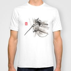 "Capoeira 482 ""Berimbau"" T-shirt by Alexandre Guillaume | Society6"