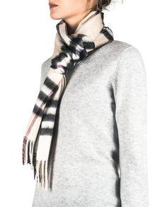 Kaschmir Schal kariert steingrau front Plaid Scarf, Fashion, Cashmere, Scarves, Moda, Fashion Styles, Fasion