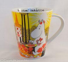 Kaikenlaiset Yamaka muumimukit, näitä minulla ei ole yhtään Moomin Mugs, Tove Jansson, Painted Furniture, Coffee Cups, Tableware, Painting, Japan, Coffee Mugs, Dinnerware
