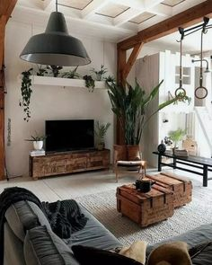 Modern Living Room Furniture Design and Decorating - Kitchen Inst Living Room Interior, Home Living Room, Home Interior Design, Kitchen Interior, Indie Living Room, Cozy Living Room Warm, Interior Livingroom, Interior Ideas, Room Furniture Design