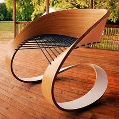 Carnaval Chair by Guido Lanari & Jesica Vicente. The frame is made from a…