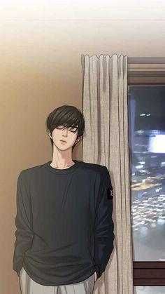 Drawing Couple Poses, I Love Yoo Webtoon, Character Design Girl, Boy Illustration, Satsuriku No Tenshi, Handsome Anime Guys, Webtoon Comics, Anime Couples Manga, Mystery Novels