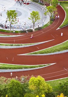 Zhangmiao Exercise Park / Archi-Union Architects