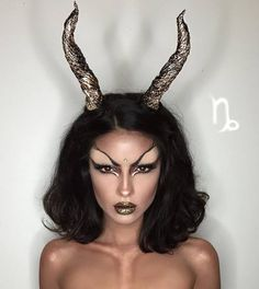 Image de makeup, capricorn, and zodiac