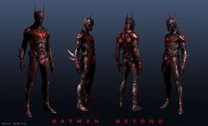 Batman Beyond concept images.