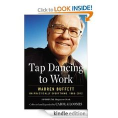 READ Tap Dancing to Work: Warren Buffett on Practically Everything, A For by Carol J. Loomis book pdf Best Biographies Books recommendations to read in your lifetime. READ Tap Dancing to Work: Warren Buffett on Practically Everything, A For Warren Buffett, Bill Gates, Best Biographies, Fortune Magazine, Tap Dance, Reading Levels, Show, Paperback Books, Book Recommendations