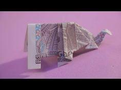 xếp tiền giấy việt nam tập 33 | CON VOI | origami elephant money | xếp t... Origami Yoda, Origami Xmas Tree, Origami Pokemon, Origami Tie, Dragon Origami, Origami Pumpkin, Origami Penguin, Chat Origami, Origami Turtle
