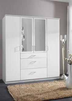 Kleiderschrank Click 180,0 Alpinweiß 10413. Buy now at https://www.moebel-wohnbar.de/kleiderschrank-click-180-0-alpinweiss-10413.html
