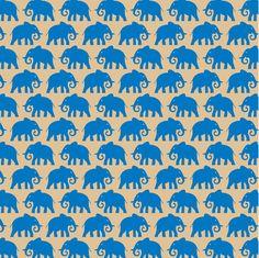 """""""Elephant"""" - 5 feuilles de papier de soie à motifs sur www.scrap-packing.fr"""