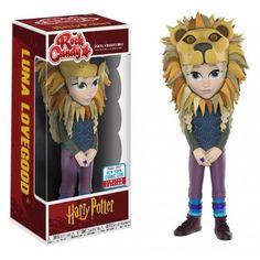 #funko #funkomania #harrypotter #hogwarts #lunalovegood Rock Candy Luna Lovegood Lion Hat, NYCC 2017 Exclusive, Harry Potter, Hogwarts, Funkomania