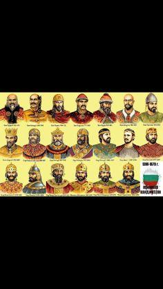 Kings from Bulgarian history