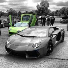 Two Gorgeous Lamborghini Aventador(s)