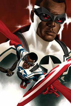 All-new captain america. Still miss steve, but falcon cap is still pretty cool