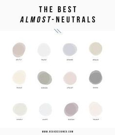 neutral paint color ideas for home decor