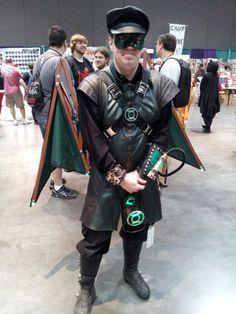 Steampunk Green Lantern