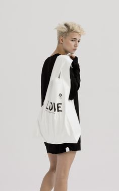 MEDIUM TYVEK BAG LOVE | UEG STORE #UEG_official