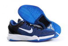 best website 75390 d95ee Kobe VII(7) Royal Blue Black White 488371 400 Kobe 7 Shoes, Kobe