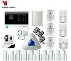 Yobang Security Wireless Wifi GSM GPRS Home Automation/Security Alarm system Kit With Auto Dial Protect Property and Family *** AliExpress Affiliate's buyable pin. Click the VISIT button to view the details on www.aliexpress.com