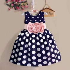 Polka Dot Bubble Sundress