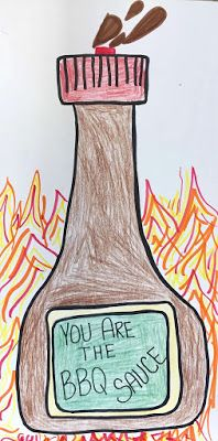 Kim & Karen: 2 Soul Sisters (Art Education Blog): You Are The BBQ Sauce