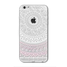 Colorful Paisley Flowers Cases For iphone / Hollow Mandala Henna Retro Vintage Cases
