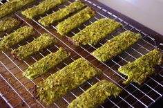 Italian Broccoli Flatbread - A similar recipe to cauliflower pizza crust!