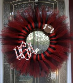 UGA football season wreath idea!