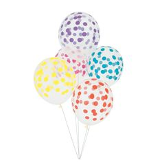 Balloons for All Occasions. Confetti Filled, Foil Numbers, Big Round Balloons, All Shapes & Sizes. Stylish Fun Party Balloon Shop with Worldwide Delivery