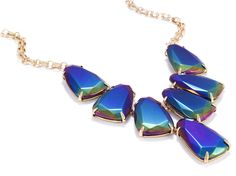 We're seeing rainbows in this Kendra Scott statement necklace, now available via Rocksbox!