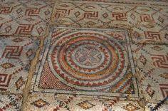 Byzantine mosaic, Shavey Zion