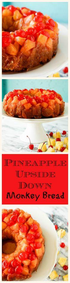 Pineapple Upside Down Monkey Bread